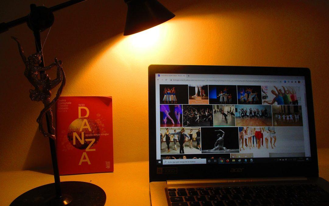 foto di danza al computer